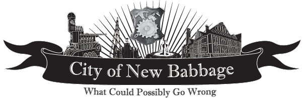 City of New Babbage logo