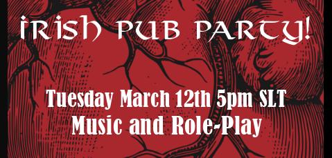 Irish Pub Party @ the Tell-Tale Heart Pub